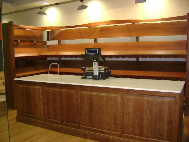 Vendo mostrador rustico para tienda for Vendo bar de madera